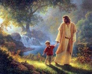 jesus e a criança