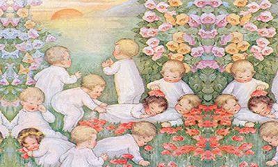 crianças no mundo espiritual