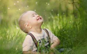 criança no plano espiritual