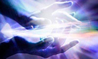mãos de luz