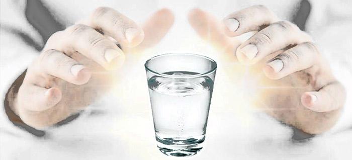 água fluidificada